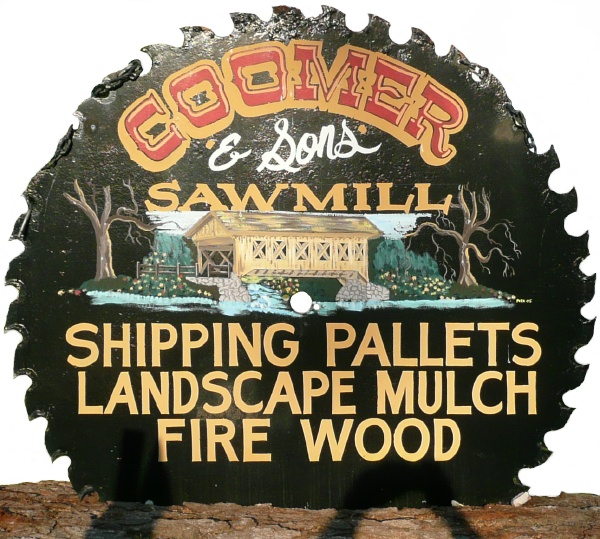 Coomer Saw Mill Logo